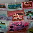 Landscape Postcards Quilt